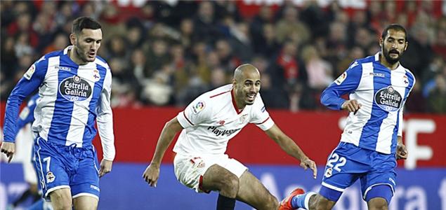 西甲:本耶德尔破门诺利托两助攻,塞维利亚2-0拉科