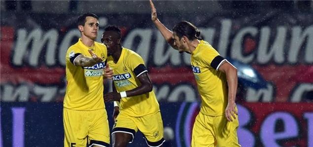 意甲:乌迪内斯完胜克罗托内,热那亚1球客擒维罗纳