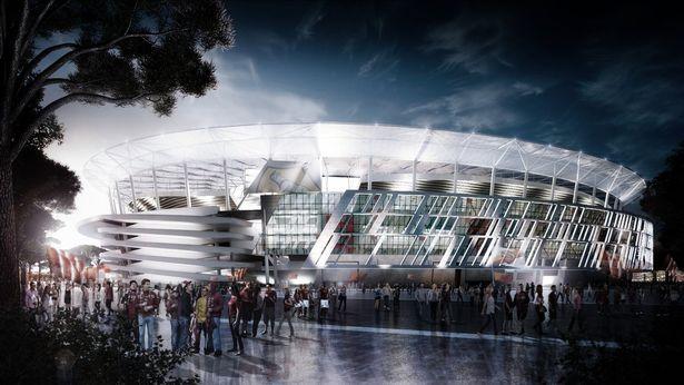 罗马新球场方案获批,2020-21赛季揭幕