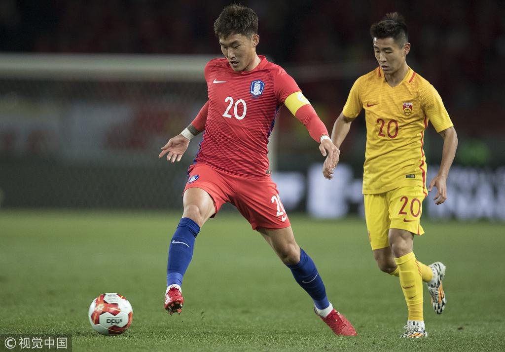 张贤秀:对失球非常遗憾,回去需要好好反省