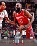 NBA官方发布今日8支球队的赢球图集