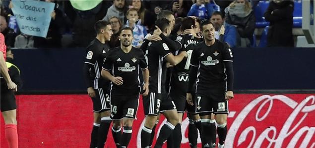 莱昂卡马拉萨建功,贝蒂斯2-0客胜马拉加结束6轮不胜