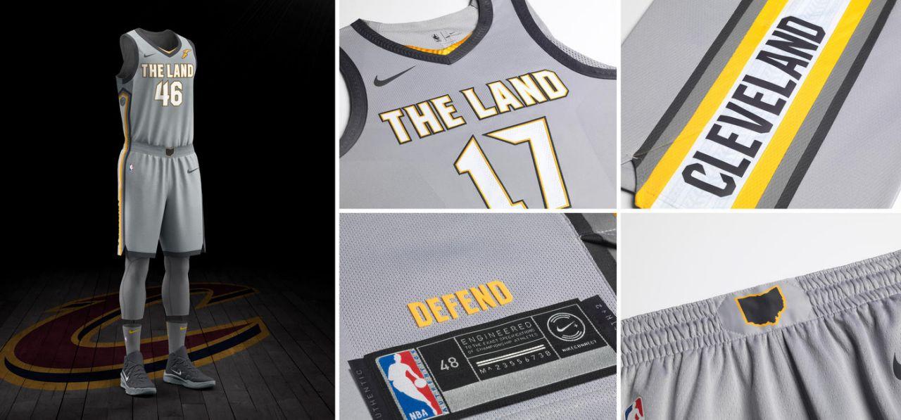 骑士发布新城市版球衣,詹姆斯参与设计