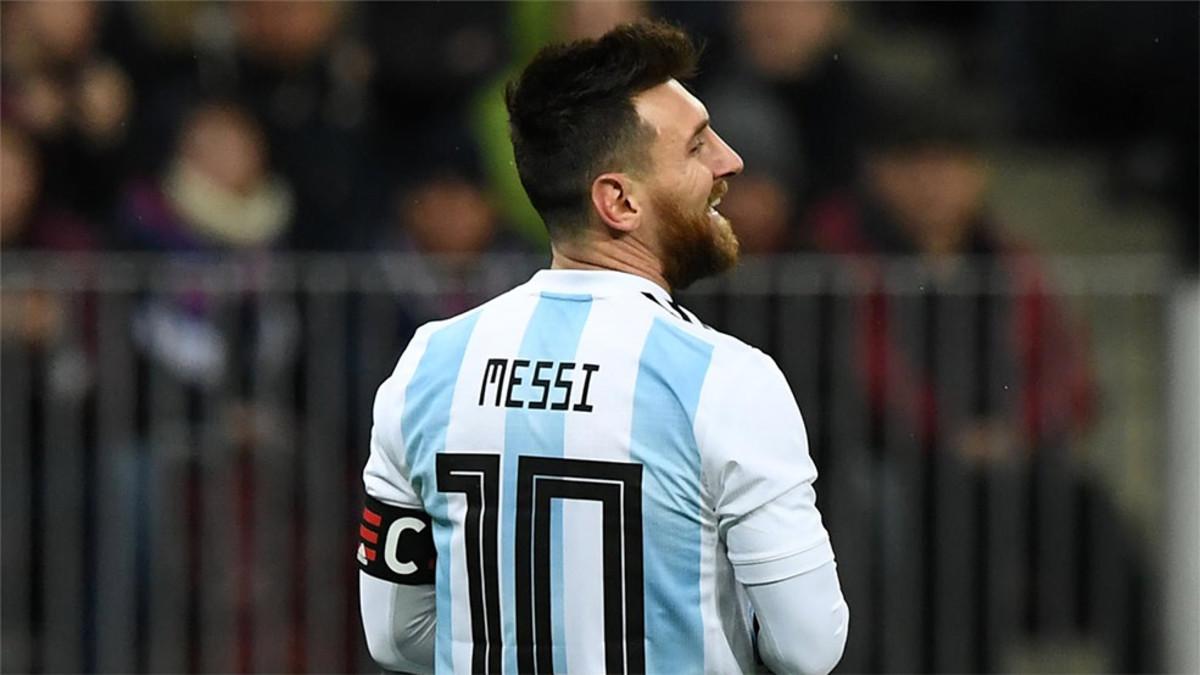 阿根廷和西班牙计划在五月末在诺坎普进行热身赛