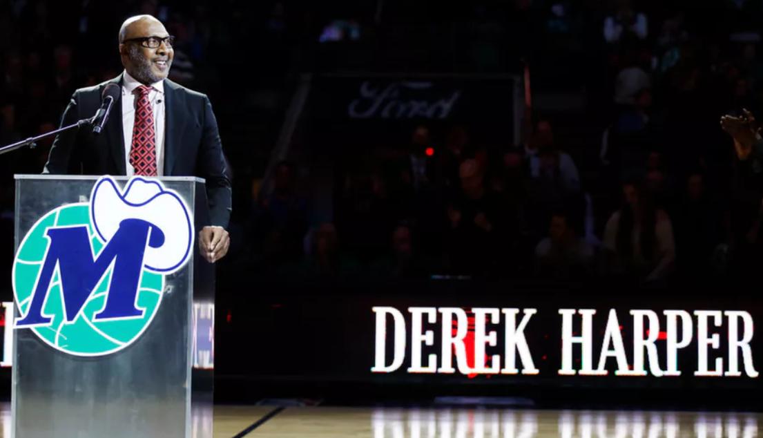 德里克-哈珀谈球衣退役:这是我的夜晚