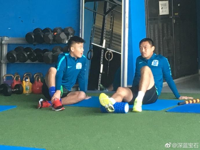 富力开启新年首次训练:张佳祺、许博和赵天赐均现身