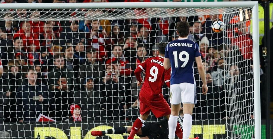 足总杯:菲尔米诺传射+失点,利物浦2-3西布朗遭淘汰