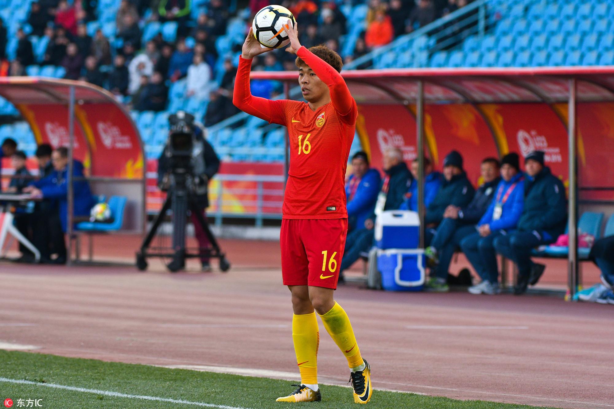 曝一方U23小将李帅加盟苏宁在即,将跟队冬训
