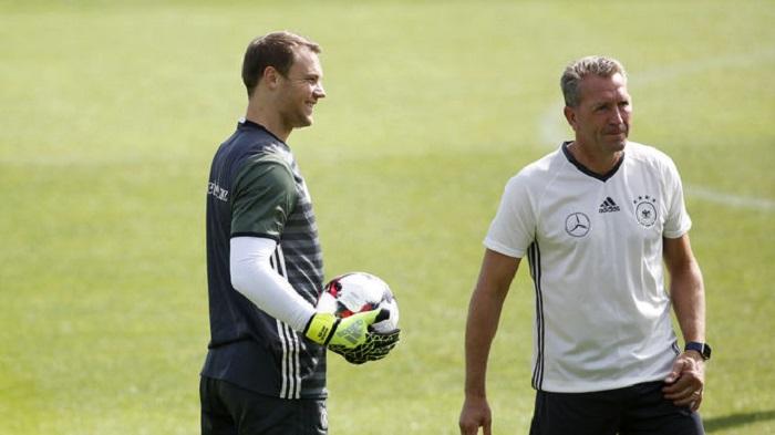 德国门将教练:相信诺伊尔能够踢世界杯