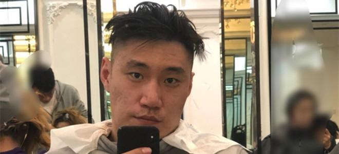 常林晒理发照:过年了来个很社会的发型