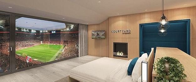 躺在现场看球?拜仁主场未来将设置套房级包厢