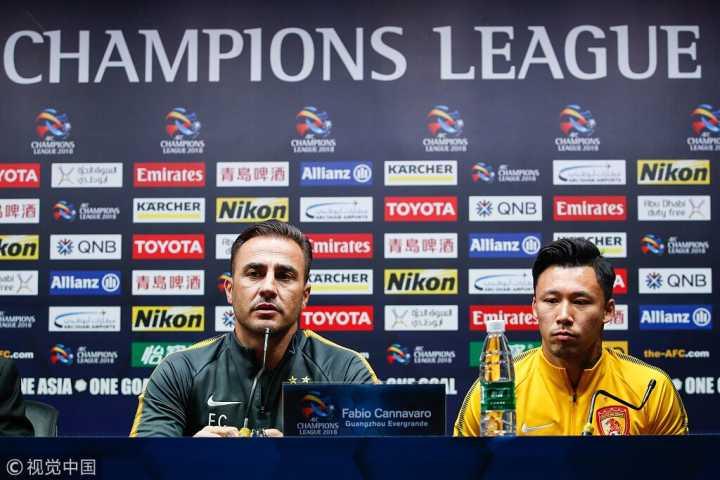 卡纳瓦罗:第一场比赛非常重要,希望整体来弥补后腰缺陷