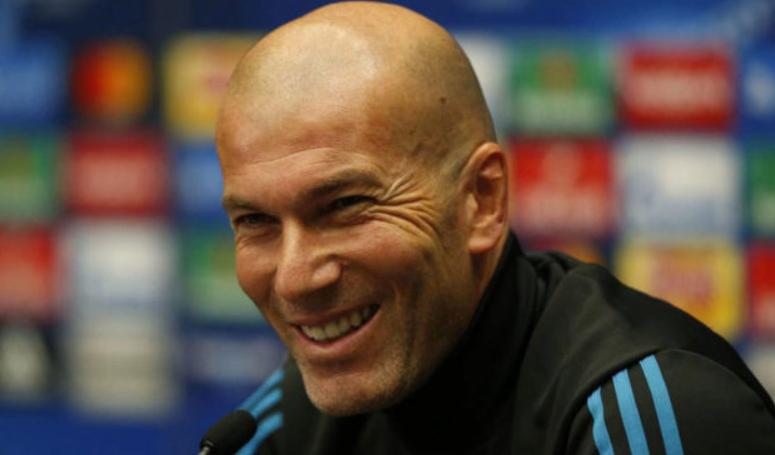 齐达内:明天比赛的对阵双方是皇马和巴黎,而非C罗和内马尔