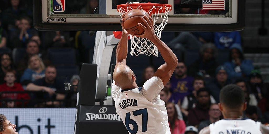 泰-吉布森28分刷新生涯得分纪录