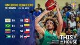 2019年男篮世界杯美洲区预选赛综述:巴西加拿大等队获胜