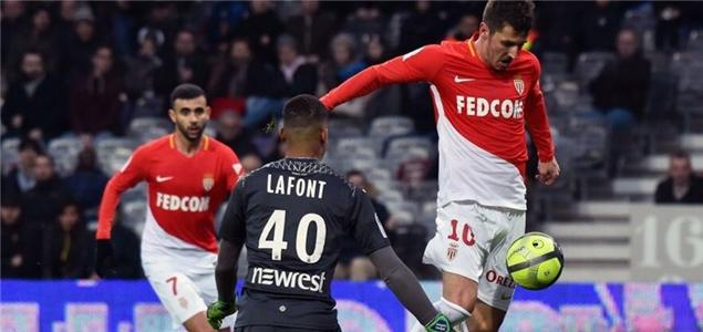 法甲综述:摩纳哥2球领先遭追平,南特里尔吞败仗雷恩第戎奏凯