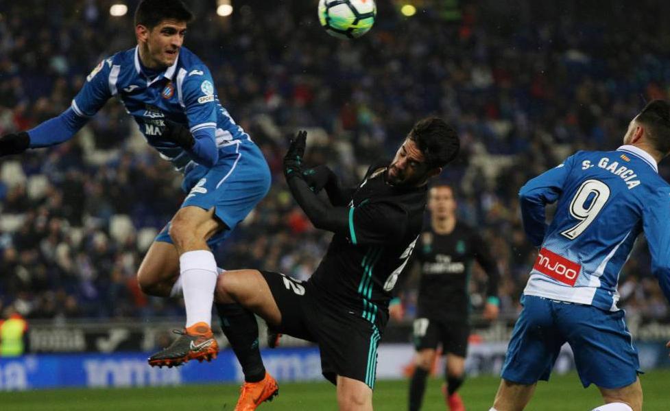 C罗缺阵莫雷诺读秒绝杀,皇马客场爆冷0-1西班牙人