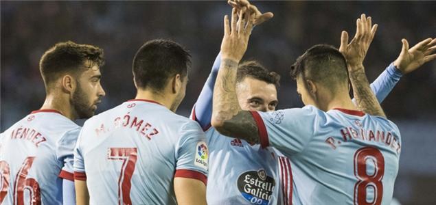 西甲:埃尔南德斯绝杀,塞尔塔2-1逆转拉斯帕尔马斯
