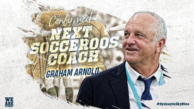 官方:悉尼FC主帅阿诺德将在世界杯后执教澳大利亚队