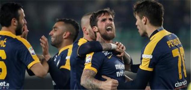 意甲:卡拉乔洛一锤定音,维罗纳1-0切沃迎连胜