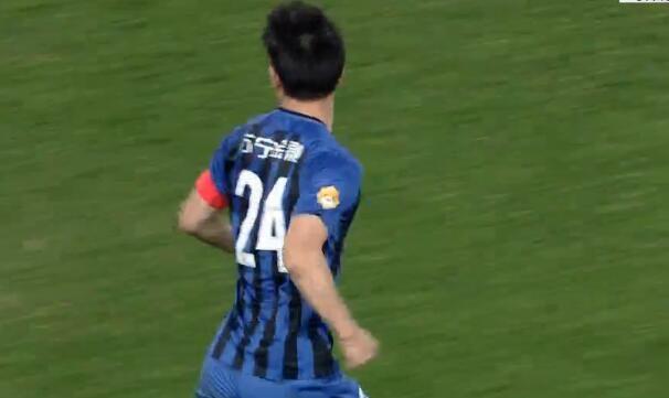 GIF:很帅了!吉翔任意球直接破门,苏宁1-2国安