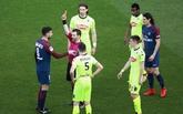 法媒:蒂亚戈-莫塔因为危险动作,被法甲联赛禁赛三场