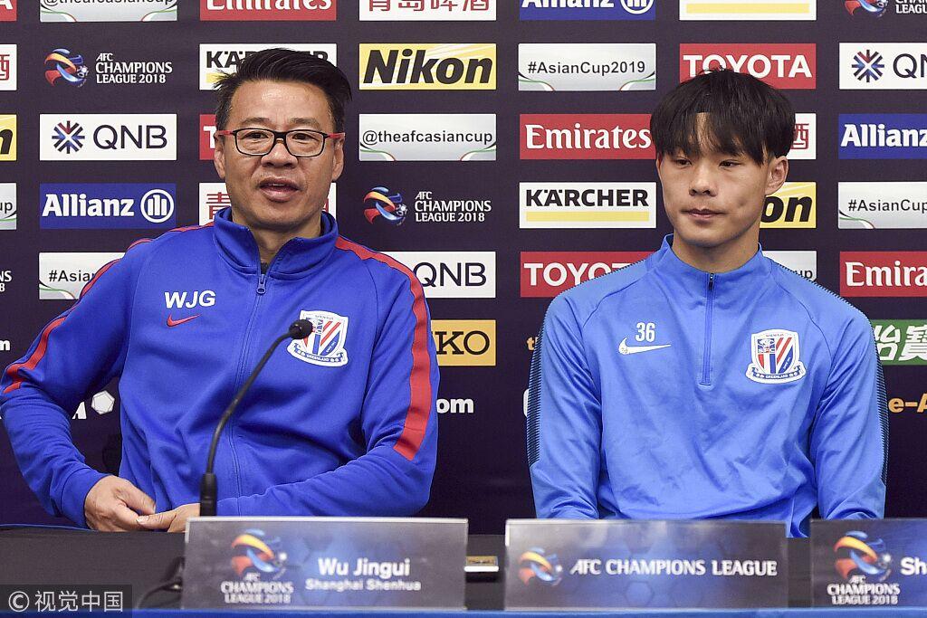 吴金贵:来悉尼就会全力以赴,会给更多年轻球员机会