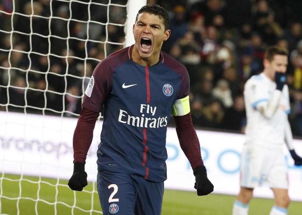 蒂亚戈-席尔瓦:法甲冠军献给内马尔,这个值得尊敬的年轻人