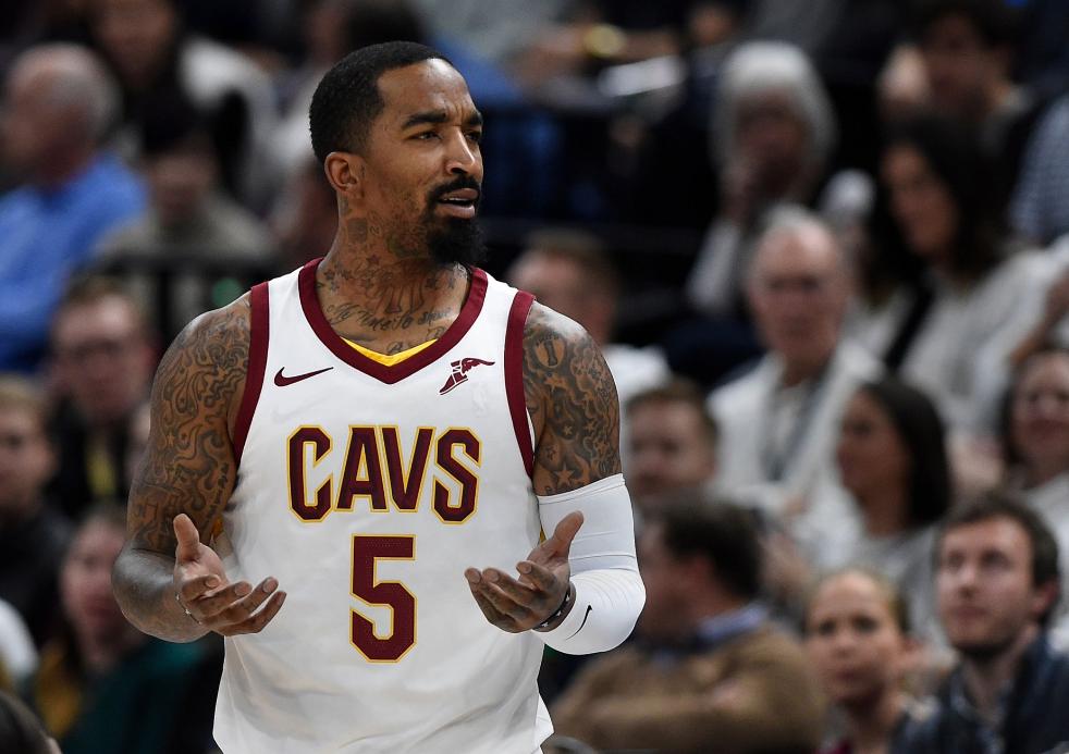 JR-史密斯出战33分钟没有得分,季后赛生涯第2次