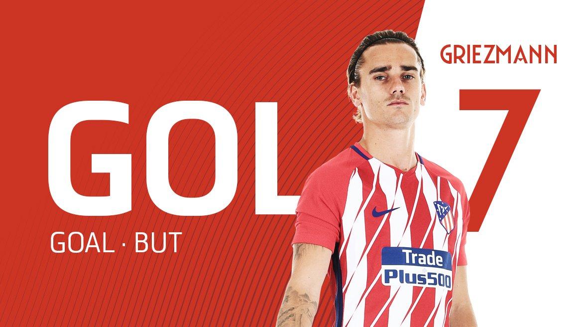 GIF:格列兹曼破门,马德里竞技扳平比分