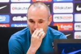 官方:巴萨队长伊涅斯塔宣布赛季结束后离开巴萨