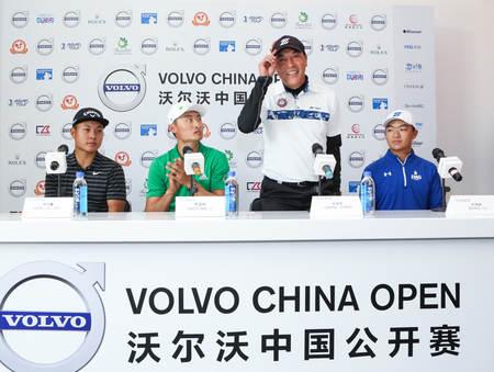 沃尔沃中国公开赛,聚集球场挥杆北京