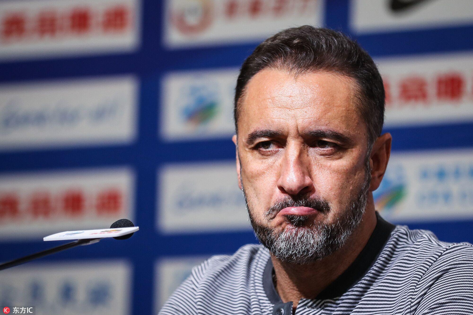 佩雷拉:球队必须从失利中走出,足协杯阵容会有所保留