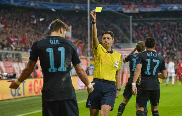 官方:意大利名哨将执法马竞阿森纳,曾吹罚阿森纳1-5拜仁