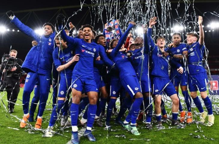 切尔西两回合狂胜阿森纳,豪取青年足总杯五连冠