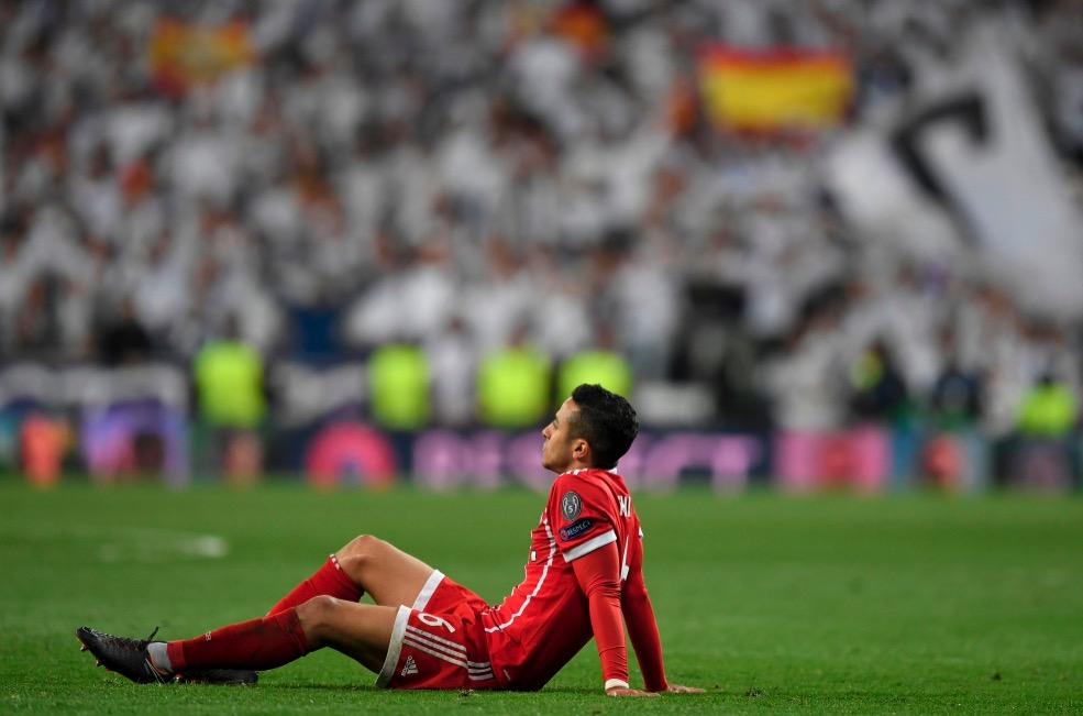 拜仁连续第5个赛季被西班牙球队淘汰出欧冠