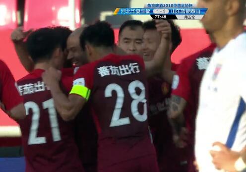 GIF:中国首球!小马哥点球补射扳平比分