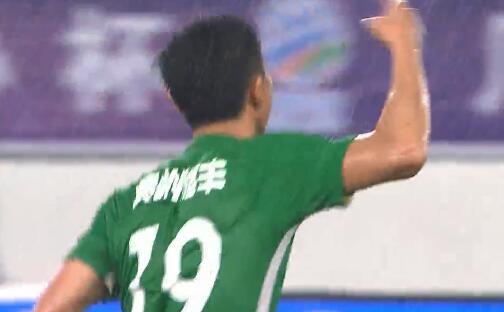 GIF:扳平!唐鑫助攻郑凯木破门,恒大1-1贵州
