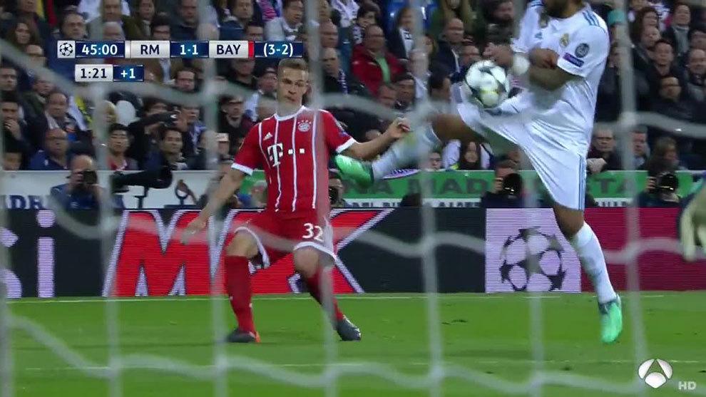 西班牙裁判专家:马塞洛手球明显,卡基尔应判点球