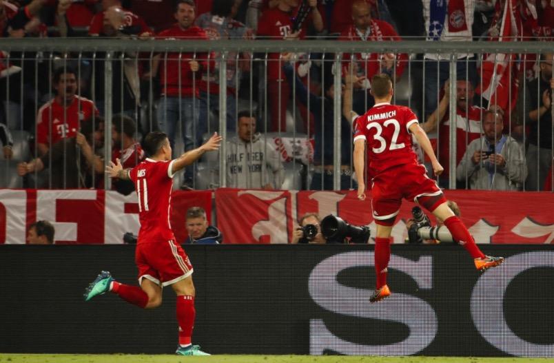 带刀后卫!基米希直接参与欧冠进球数拜仁队内最多