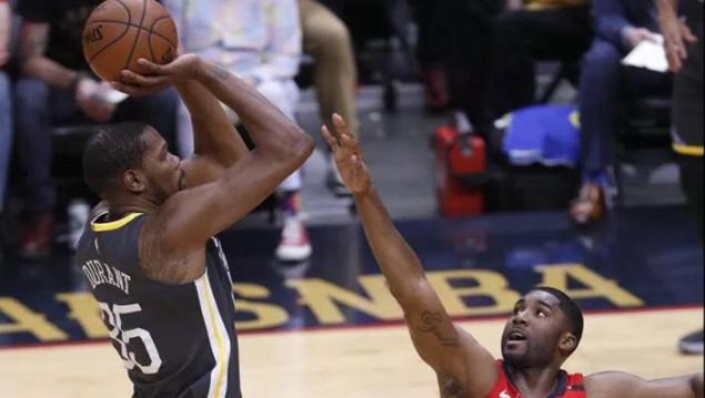 杜兰特季后赛总篮板数超过韦德,升至历史第56位