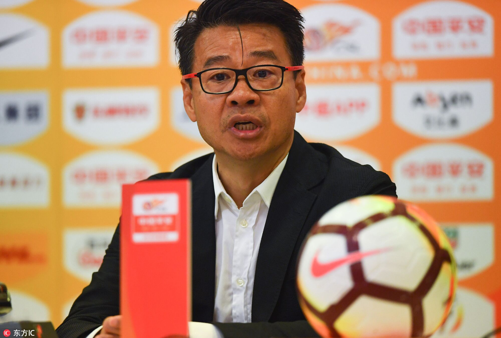 吴金贵:球员如同勇士,刘若钒替补登场又被换下因紧张