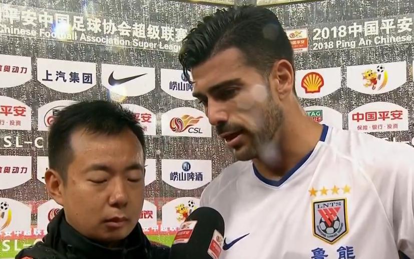 佩莱:1分对我们很重要,王大雷鱼跃能力很棒