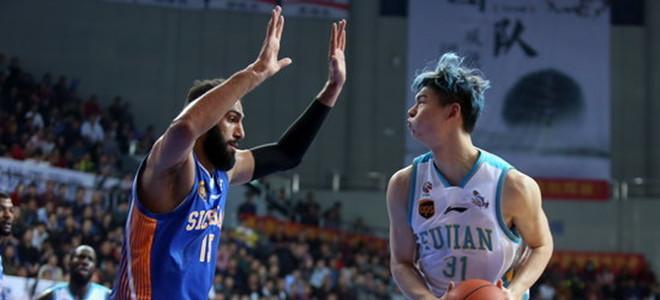 """国际篮联世预赛""""两双""""榜单:中国仅王哲林入选"""