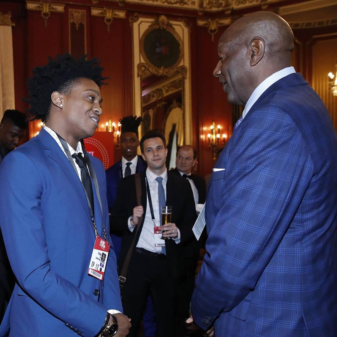 NBA总裁萧华发布图集:乐透抽签仪式