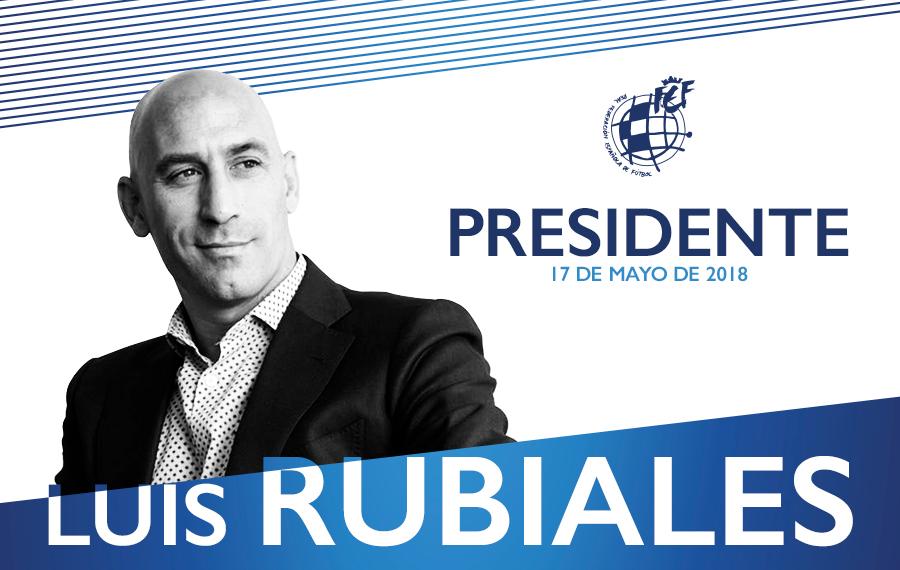 官方:前球员工会主席卢比亚莱斯当选西班牙足协新任主席