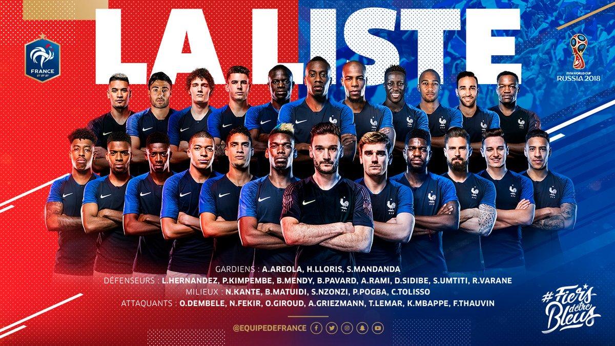 法国23人名单出炉!马夏尔、帕耶特落选