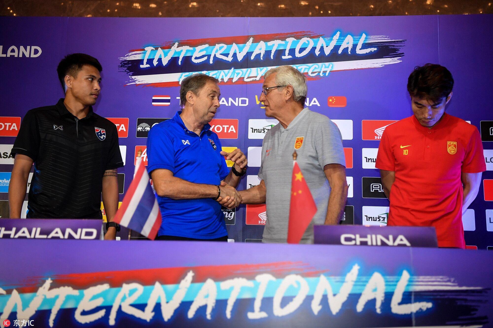 泰国主帅:曾在国安工作三年,中国队的战术纪律很好