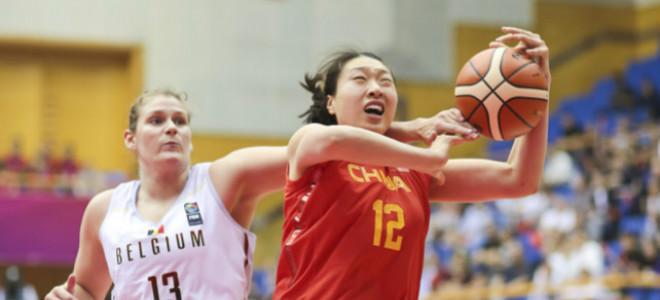 孙梦然13分8篮板,女篮热身赛轻取比利时