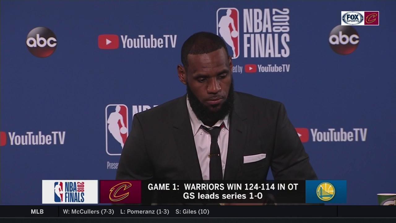 詹姆斯:我永远不会放弃JR,不会放弃任何一名队友